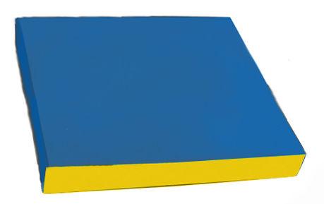 Детский цветной мат 1000х1000х80 мм