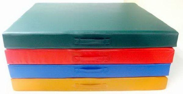 Детский цветной мат 1000х1000х50 мм