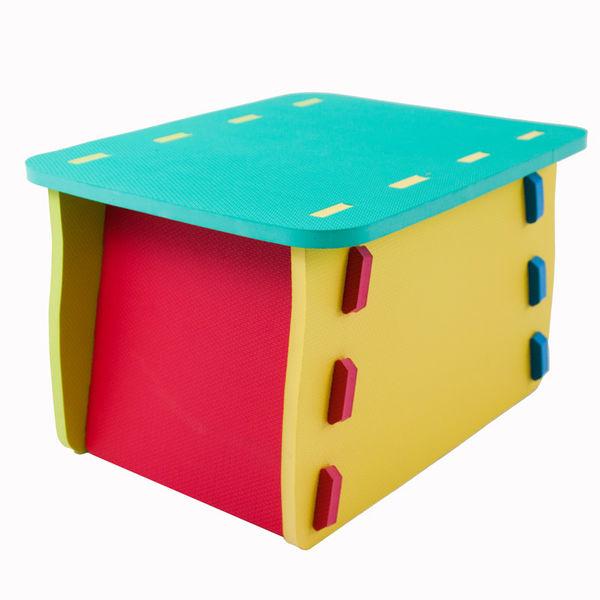 Детский сборный столик из мягких модулей