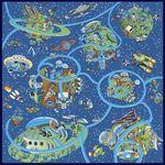 """Игровой ковер """"Вселенная"""" 100х150 см"""