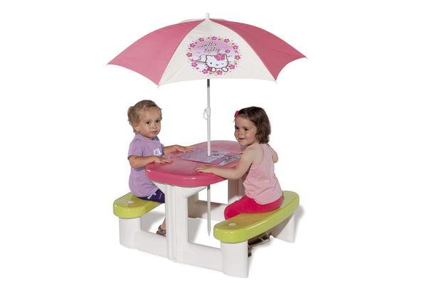 "Столик для пикника ""Hello Kitty"" + зонтик"