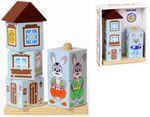 Кубики на палочке (зайка, лисенок, мишка)