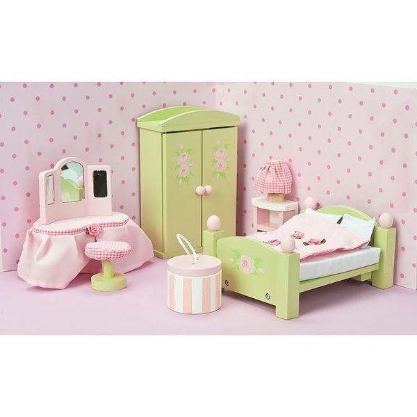 """Кукольная мебель Бутон розы """"Спальня"""""""