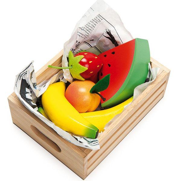 """Игрушечная еда """"Сочные фрукты"""" в ящичке"""