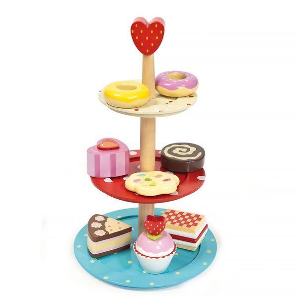 """Игровой набор """"Этажерка с пирожными"""""""