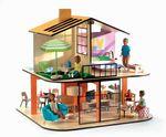 Дом цветной для кукол