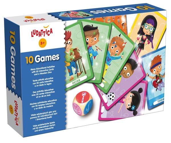 """Настольная игра """"10 игр"""""""