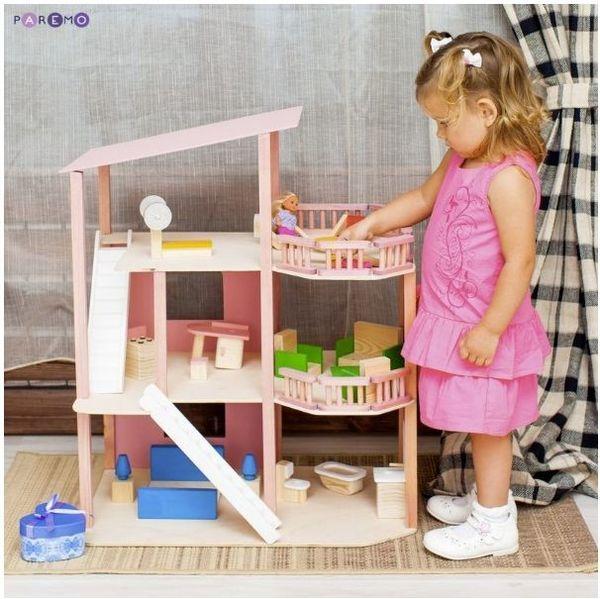 """Дом для мини-кукол """"Коралловый риф"""", с мебелью"""