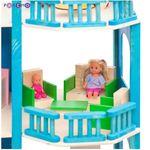 """Дом для мини-кукол """"Лазурный берег"""", с мебелью"""
