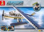 """Конструктор """"Авиация: Самолёт-амфибия"""", 214 деталей"""