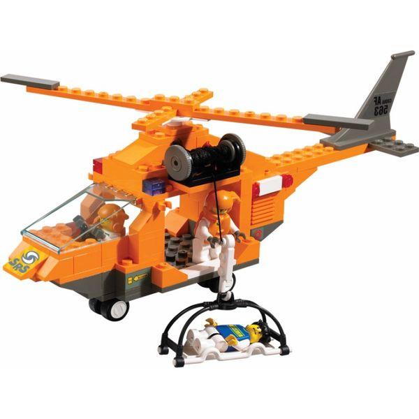 """Конструктор """"Спасатели: Вертолёт"""", 160 деталей"""