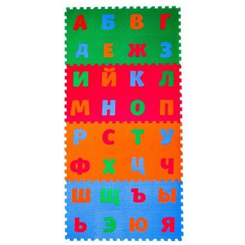 Детский коврик-пазл «Русский Алфавит», 1,55 м2