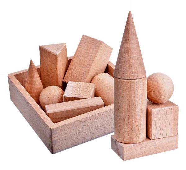 Набор геометрических тел, 7 штук