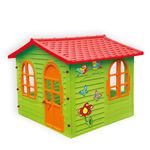 Домик цветной садовый
