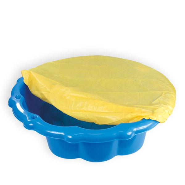 Песочница-бассейн малый с тентом