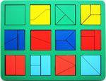 """""""Сложи квадрат"""" Б.П.Никитин, 1 уровень (макси)"""