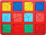 """""""Сложи квадрат"""" Б.П.Никитин, 2 уровень (макси)"""