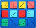 """""""Сложи квадрат"""" Б.П.Никитин, 3 уровень (макси)"""