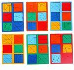 """""""Сложи квадрат"""" Б.П.Никитин, 3 уровень (мини)"""