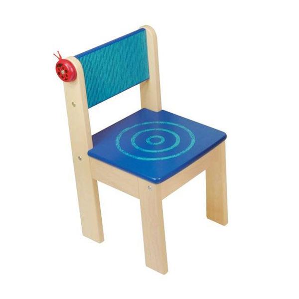 Детский стульчик (синий)