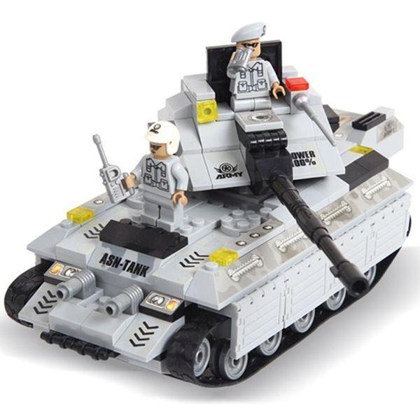 "Конструктор ""Армия: Тяжёлый танк"" (299 деталей)"