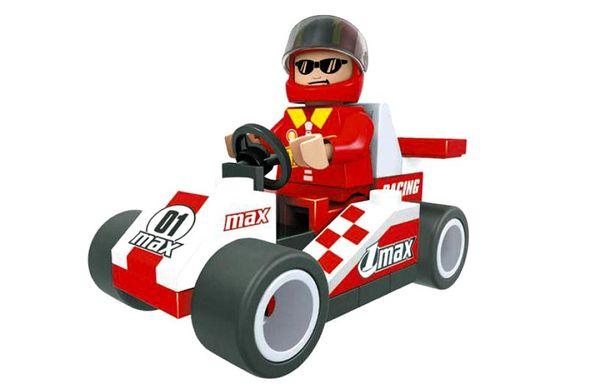 """Конструктор """"Гонка, Формула чемпионов: Карт """"01 max"""" (36 деталей)"""