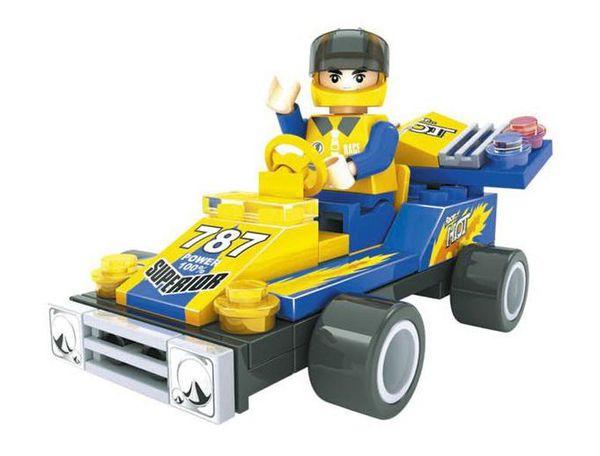 """Конструктор """"Гонка, Формула чемпионов: Карт №787"""" (55 деталей)"""