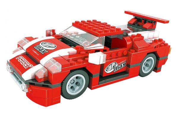 """Конструктор  """"Гонка, Формула чемпионов: Спортивный автомобиль """"Max"""" (328 деталей)"""
