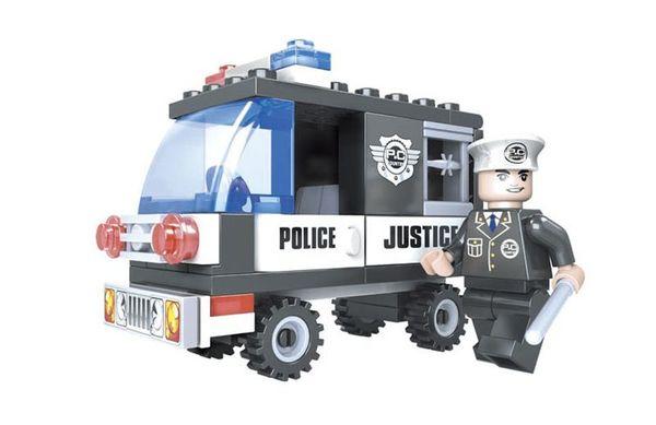 """Конструктор """"Патруль: Полицейский фургон"""" (58 деталей)"""