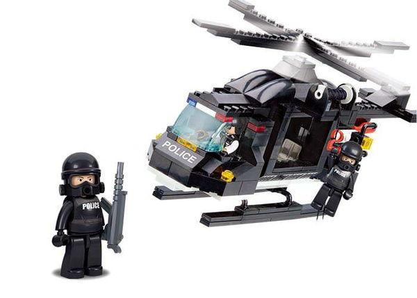 """Конструктор """"Полиция: Вертолёт"""" (219 деталей)"""