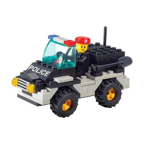 """Конструктор """"Полиция: Внедорожник"""" (88 деталей)"""