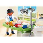 Детская клиника: Дантист с пациентом