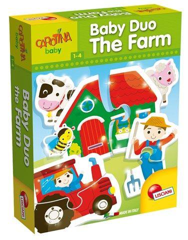 """Пазл для малышей """"На ферме"""" (15 фигурок)"""