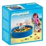 Детский сад: Игровая площадка с шариками