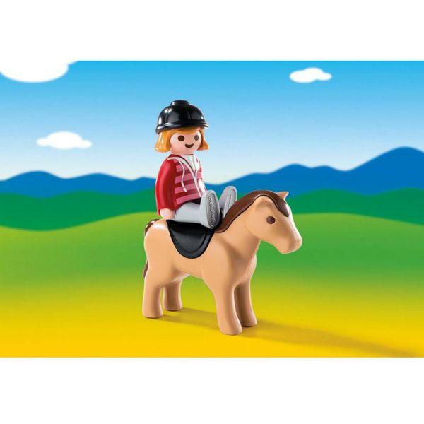 1.2.3.: Наездница с лошадью