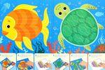 Море. Мастерилка - 6 забавных животных