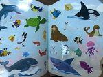 Веселые животные: Море. Многоразовые наклейки