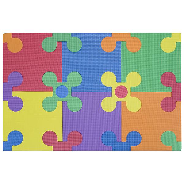 """Игровой коврик-пазл """"Цветы-12"""", 2,7 м2"""