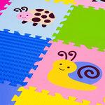 """Игровой коврик-пазл """"Окружающий мир - Насекомые"""", 0,81  м2"""