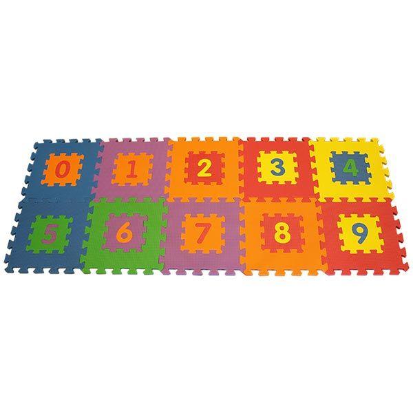 """Игровой коврик-пазлы """"Цифры-1"""", 0,9 м2"""