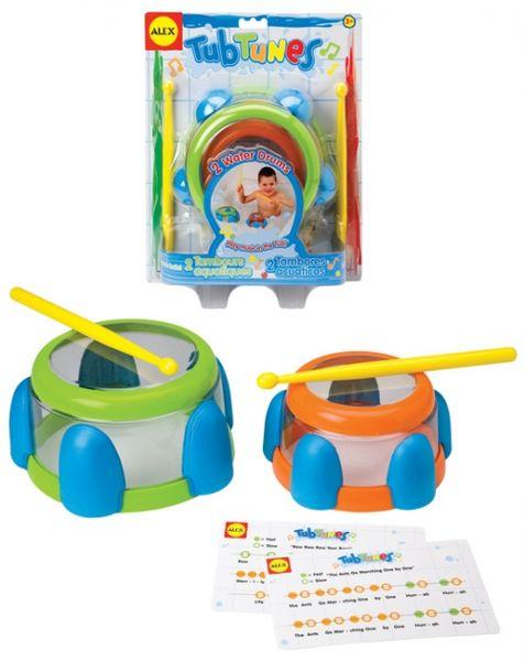 Игрушка для ванны «Барабаны»