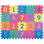 """Игровой коврик-пазлы """"Цифры-4"""", 0,45 м2"""