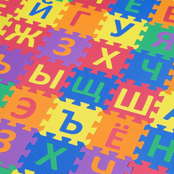 """Игровой коврик-пазлы """"Эрудит-1"""", 2,88 м2"""
