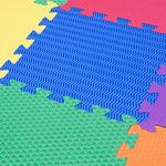 """Игровой коврик-пазл с рельефной структурой """"Сенс-12"""", 0,54 м2"""