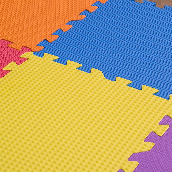 """Игровой коврик-пазл с рельефной структурой """"Сенс-12-NT"""", 0,54 м2"""