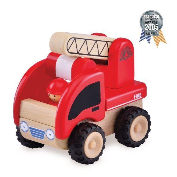 """Деревянная игрушка """"Пожарная машина"""""""