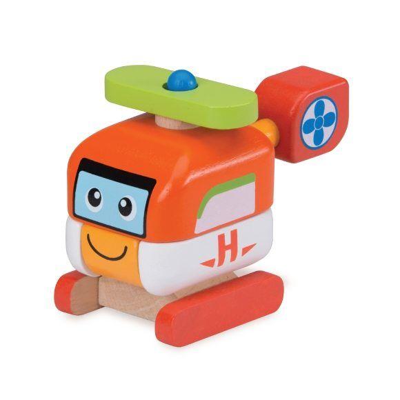 """Деревянная игрушка-конструктор """"Вертолет"""""""
