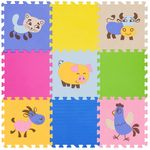 """Игровой коврик-пазл """"Окружающий мир - Домашние животные"""", 0,81 м2"""