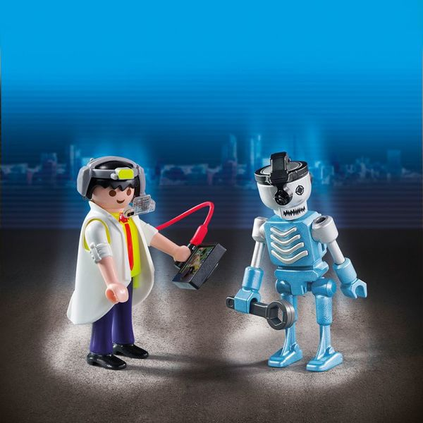 ДУО: Ученый с роботом