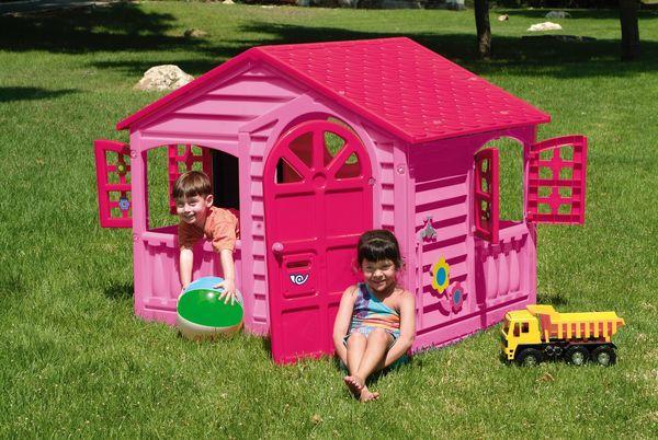Домик игровой (розовый)